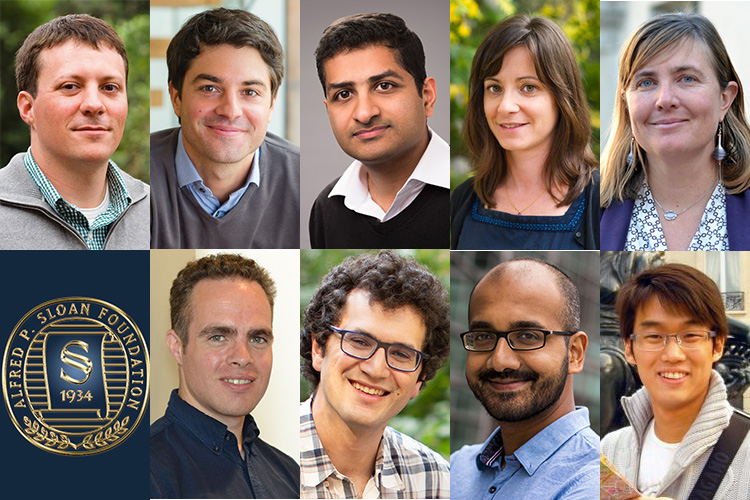 nine 2020 Sloan Fellows