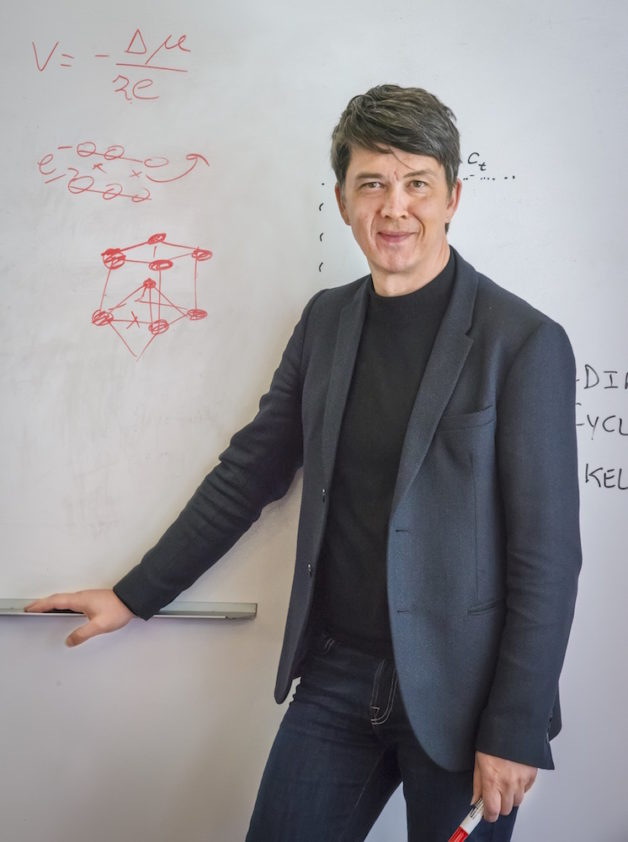 Berkeley Lab battery researcher Gerbrand Ceder