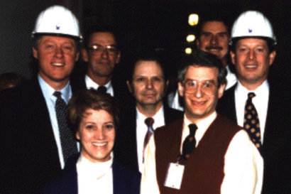 Katz with Clinton and Gore