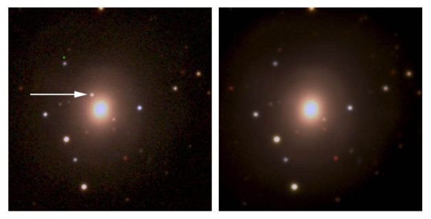 light associated with matter expelled from a neutron star merger