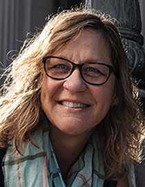 headshot of Hilary Hoynes, professor of public policy and economics and the Haas Distinguished Chair in Economic Disparities in the Goldman School of Public Policy