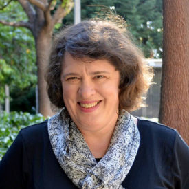 Portrait of Kate O'Neill smiling