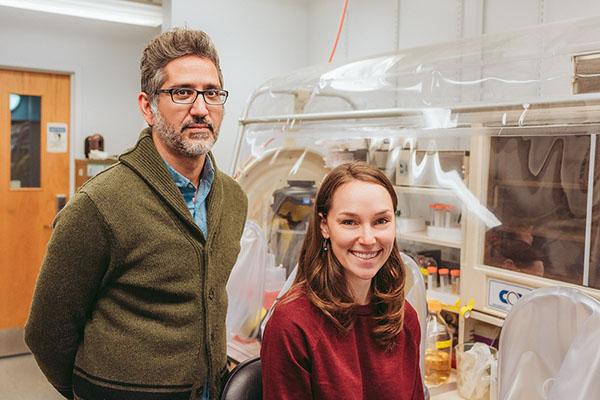 Arash Komeili and Carly Grant