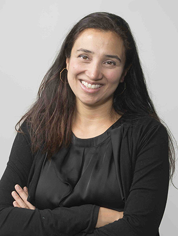 A photo of Dr. Rohini Haar, an emergency room doctor who also is a lecturer at UC Berkeley.