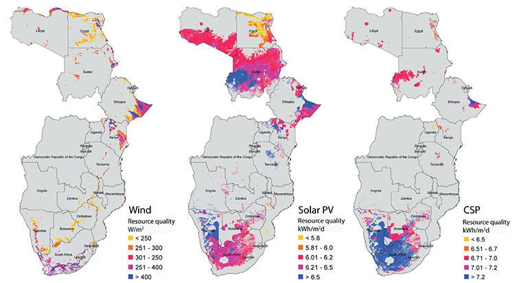 figure - eastern and southern African renewable resources