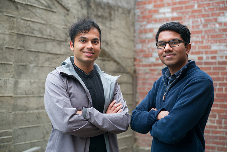 UC Berkeley students Ash Bhat and Rohan Phadte