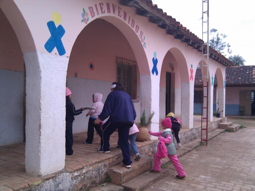 Ames spent seven months in Paraguay to examine how kids were using their XO laptops. Image courtesy of Morgan Ames.