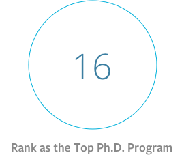 rank as the top phd program.