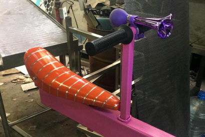 Teeter totter in fabrication plant