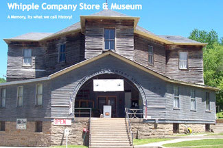 postcard: Whipple Company Store