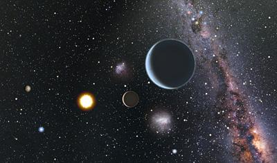 Robotic Telescope Reveals Three Super-Earths Orbiting HD 7924