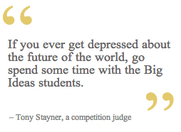 Quote from judge, Tom Stayner