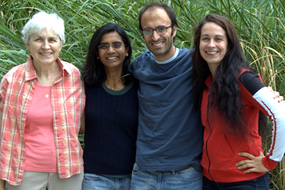 Members of the Millet Project team