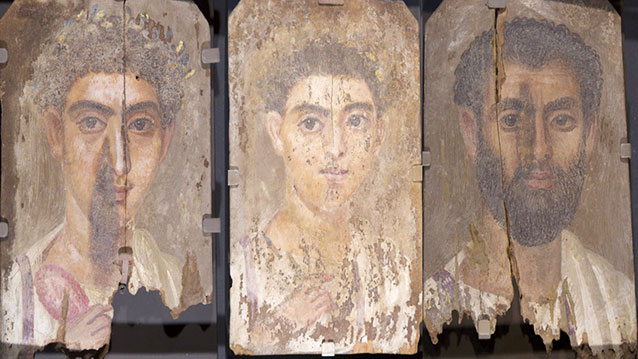 Roman-era Egyptian mummy portraits