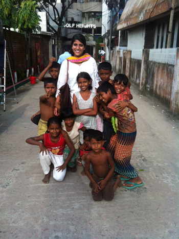 CGPH image - woman with children