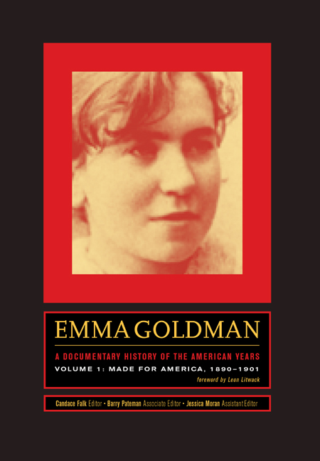 an introduction to the life of emma goldman Emma goldman, too, had to walk the sorrowful road of married life she, too, had to learn in fiery words the misery of the wage slave's life.