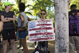 Black Lives Matter rally in Fort Lauderdale in July 2016. (iStock photo.)