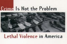 Book Cover of Crime is Not the Problem: Lethal Violence in America