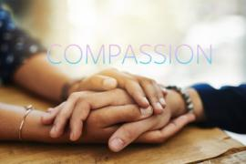 Holding hands. Image for Dacher Keltner compassion video.